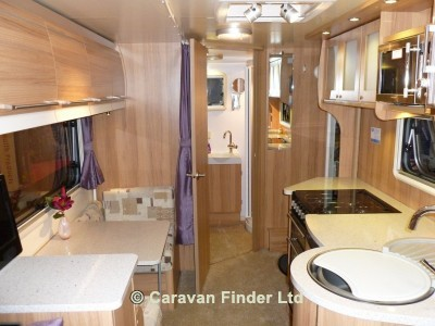Bailey Unicorn Madrid S2 2013 Caravan Photo