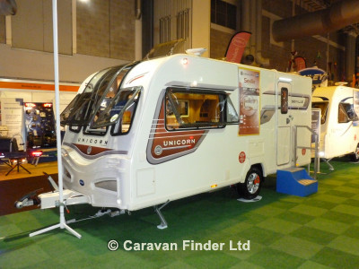 Bailey Unicorn Seville S2 2014 Caravan Photo