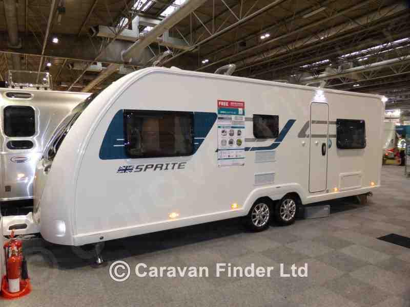 Bicester Caravan and Leisure, New Swift Sprite Quattro DD